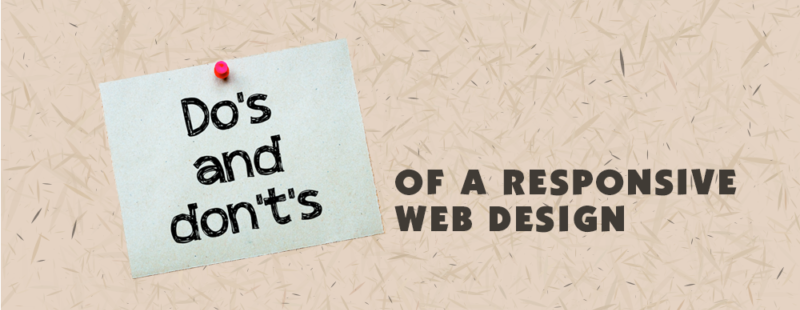 Do's & Don'ts of a Responsive Web Design - AdHut Media