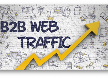B2B Website Traffic - AdHut Media