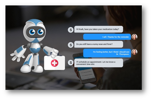 Image illustrating AI based Chat-bots - WSDCon